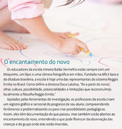 Escola em Belo Horizonte reconstrói a pedagogia italiana Reggio Emilia