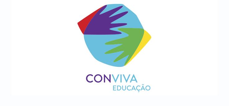 Página central do projeto Conviva Educação
