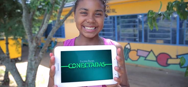 Como o projeto Escolas Rurais Conectadas apoia a educação do campo no Brasil