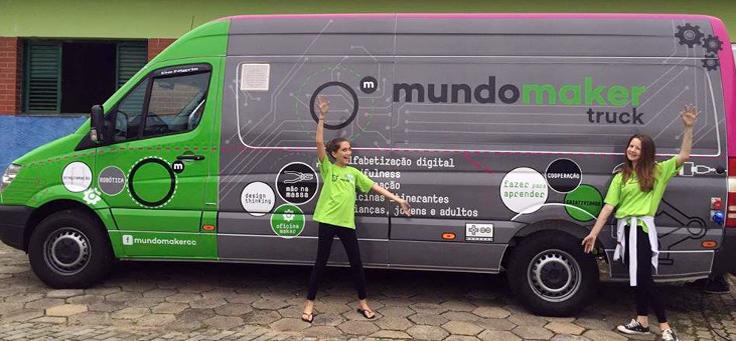Caminhão levará cultura maker para 14 cidades brasileiras