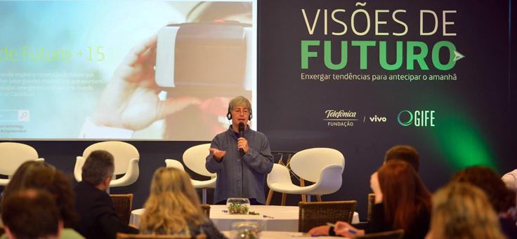 Fundação Telefônica Vivo lança site da pesquisa Visões de Futuro +15