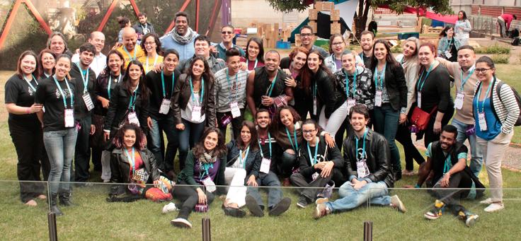 Integrantes do Programa do Pense Grande participam do R.I.A. 2016, evento da Fundação Telefônica Vivo