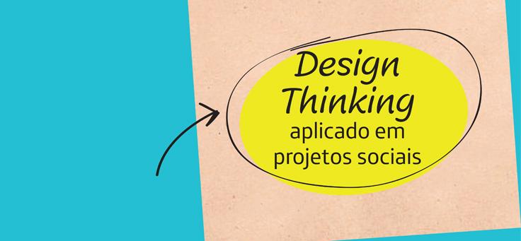 Imagem mostra capa da publicação Guia Design Thinking