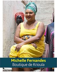 Imagem mostra a empreendedora Michelle