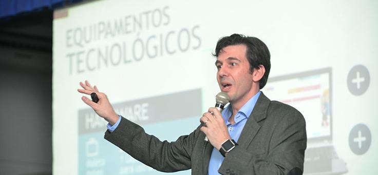 O coordenador do projeto no Brasil, Rubem Saldanha