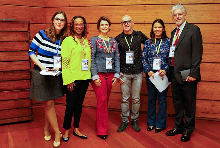 Sabine Righetti; Mila Gonçalves; Luciano Meira; Cybele Amado; Cesar Callegari