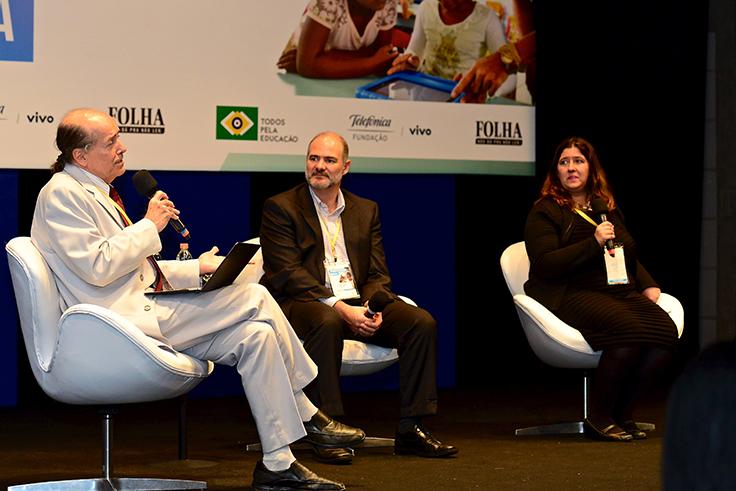 Naomar de Almeida Filho; Mário Ghio e Paula Carolei