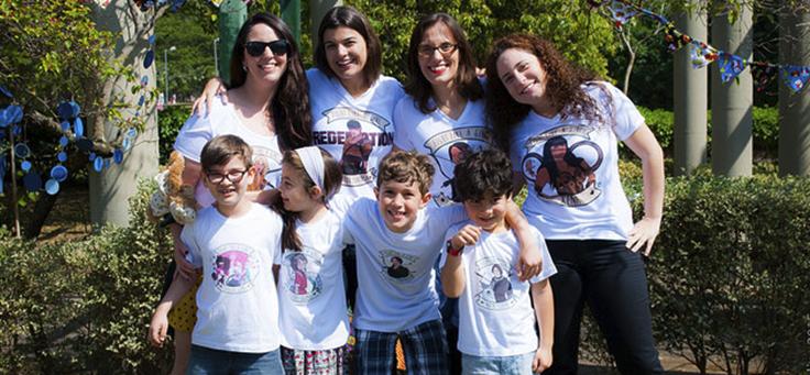 As fundadoras do Pac Mãe (da esquera para direita: Kristal Metello, Anna Beatriz Siqueira, Áurea Gil e Fernanda Café.
