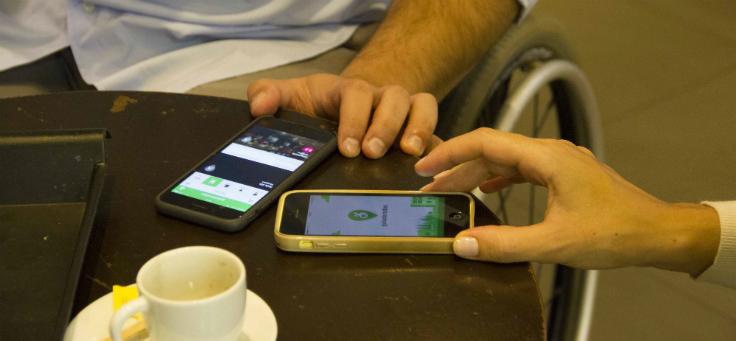 Aplicativo guiarodas ajuda pessoas com deficiência