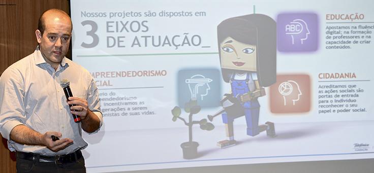 Christian Gebara, CEO da Telefônica Brasil