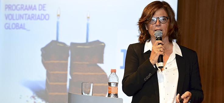 Carmen Moreno, diretora global da Telefônica Espanha