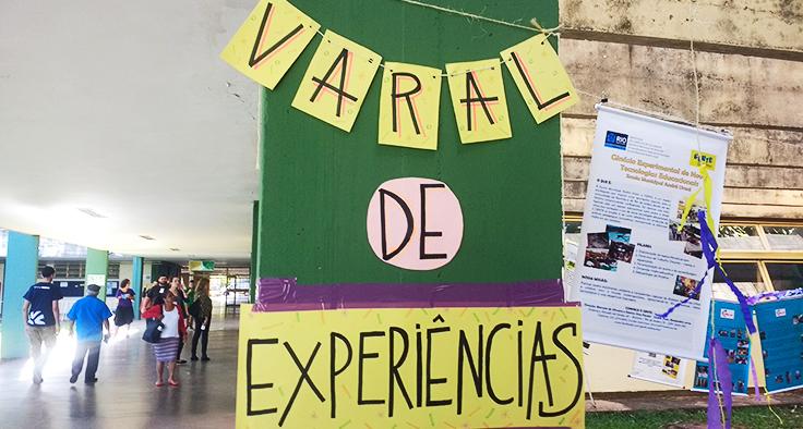 Varal de experiências na Conferência Nacional de Alternativas para uma Nova Educação