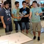 Olimpíada Brasileira de Robótica incentiva estudantes a usarem conhecimentos da sala de aula na criação de robôs