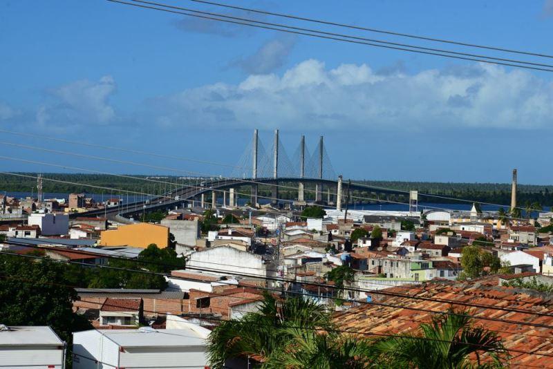 Ponte Aracaju-Barra dos Coqueiros, em Aracaju, Sergipe