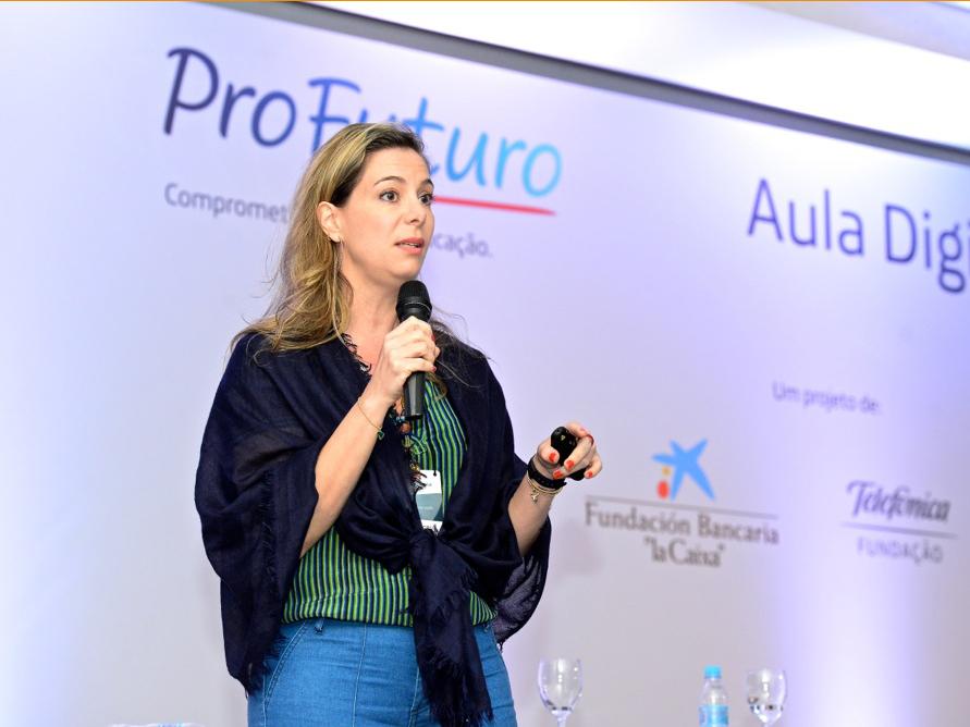 A fundadora e presidente do Movimento Todos pela Educação, Priscila Cruz
