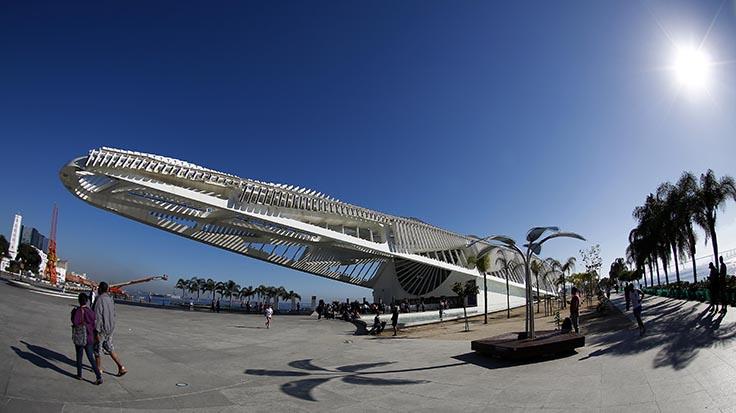 Museu do Amanhã, no centro do Rio, foi o local escolhido para sediar o evento