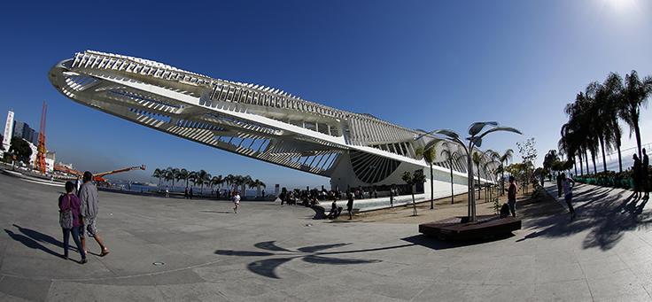 Museu do Amanhã, de arquitetura futurista, no centro do Rio, foi escolhido para sediar o Educação 360 Tecnologia