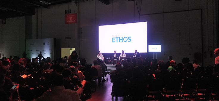 Imagem mostra painel de cobertura do Ethos