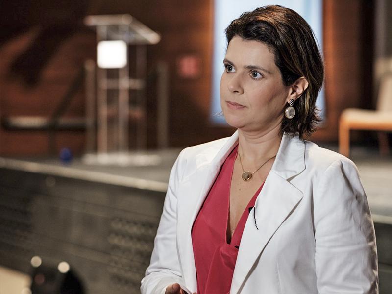 Mila Gonçalves, gerente de projetos sociais da Fundação Telefônica Vivo
