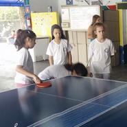 457826b9e Grêmio escolar consegue mesa de ping-pong para escola pública