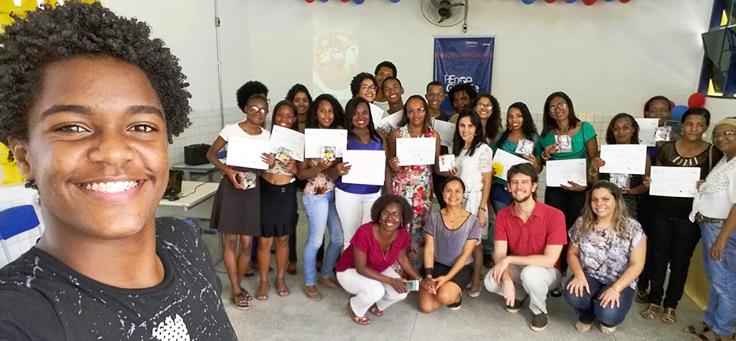 Programas Pense Grande e Inova Escola chegam juntos à Bahia pela primeira vez