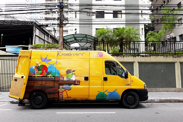 Projeto Kombosa Seletiva vende serviço de coleta seletiva em São Paulo