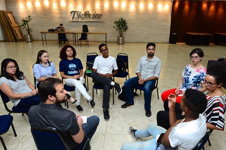 Participantes do Pense Grande apresentam projetos para investidores