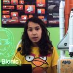 Aos 11 anos, Teteus Bionic ensina linguagem de programação de jogos para criança e adultos de maneira lúdica e criativa.