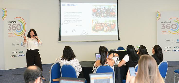 Monica Mandaji, professora, doutora em educação e consultora de formação do Instituto Conhecimento Para Todos
