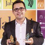 """""""Eu mantenho a utopia de ainda querer mudar o mundo"""", diz vencedor do Prêmio Jabuti"""