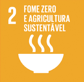 O ODS 2 é sobre Fome Zero e Agricultura Sustentável.