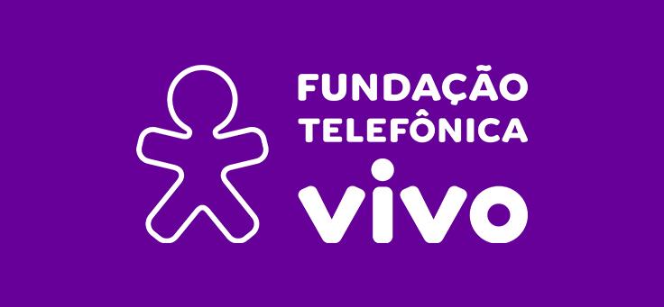 Imagem mostra a nova logomarca da Fundação Telefônica Vivo